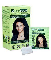 New Moon Noni Black Black Hair Color Permanent Hair Color Black Black 15 Ml Pack Of 10