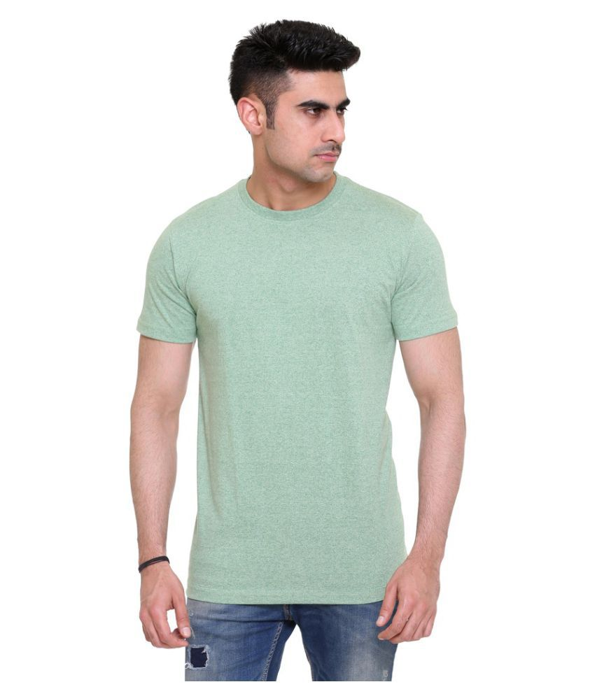 Colors & Blends Green Round T-Shirt