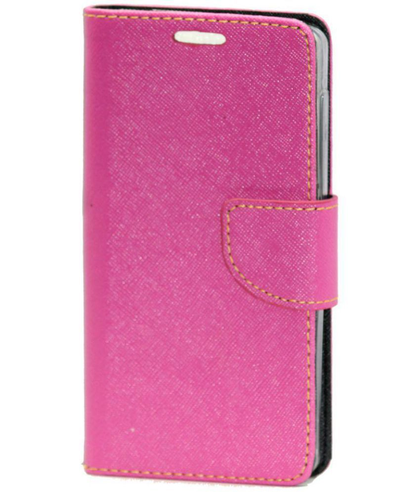 new products 7522f 64dd4 Xolo Era 4G Flip Cover by Gizmofreaks - Pink