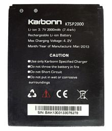 Karbonn Titanium S5 2000 MAh Battery By Karbonn