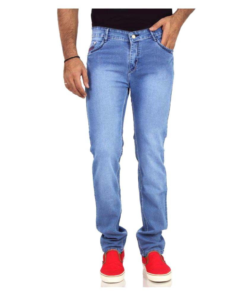 Oxberg Light Blue Regular Fit Jeans