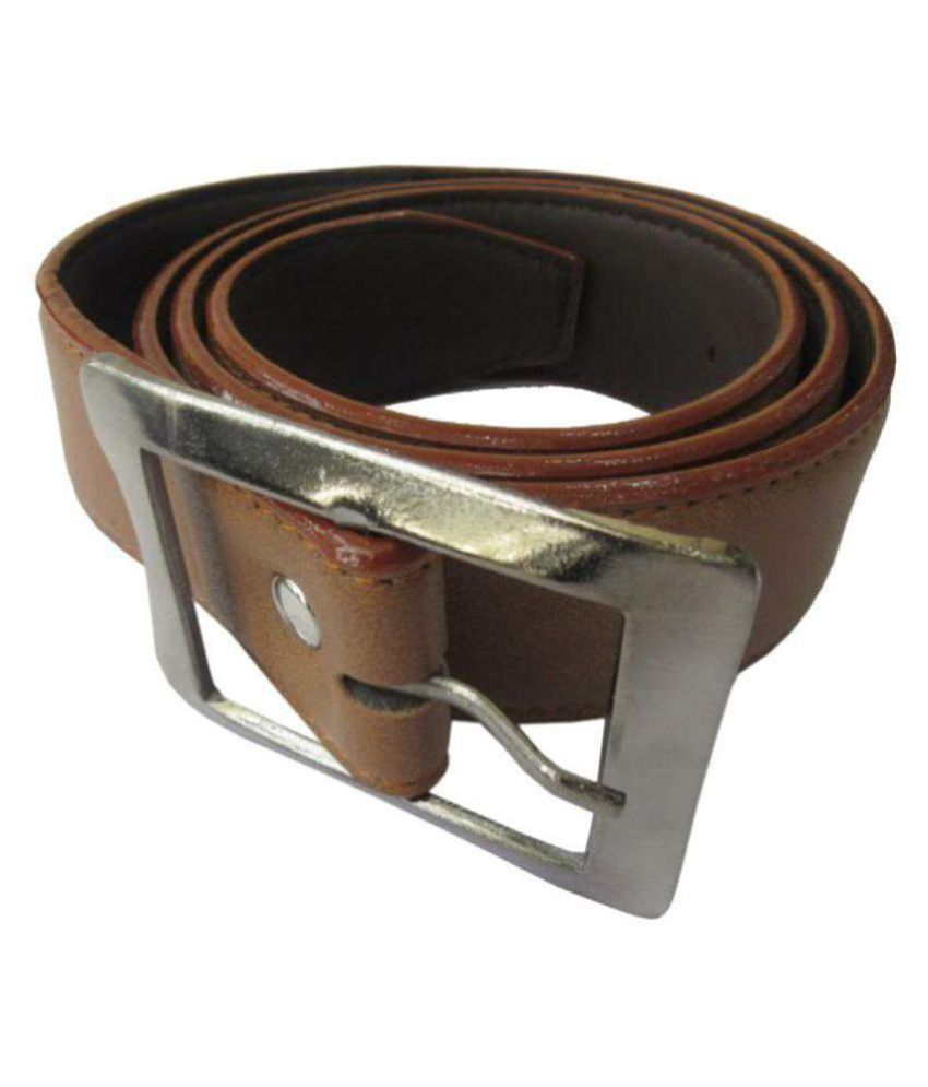 The Crew Khaki PU Formal Belts