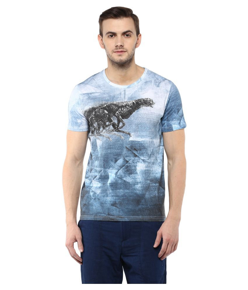 Fritzberg Blue Round T-Shirt