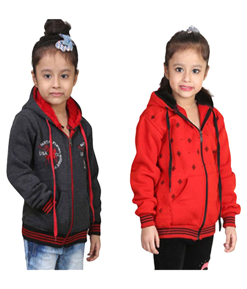Crazeis Multicolor Jacket - Pack of 2