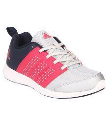 Adidas Adispree White Running Shoes