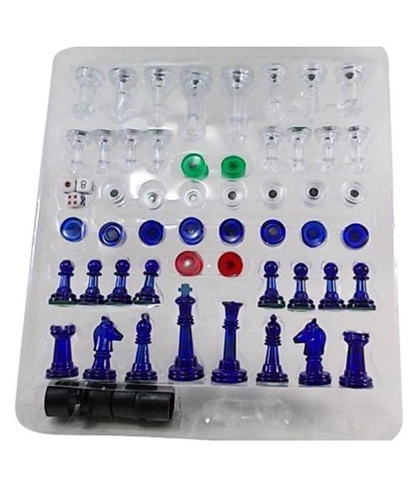 MK Enterprises Chess Board 13 in1 Family Game
