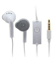 Sarthak Nexus 5X On Ear Wired Headphones With Mic White