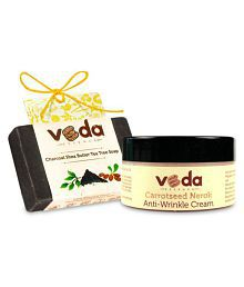 Veda Essence Natural Skin Cream And Soap-1 Cream 100 Gm 1 X 125 Gm Soap Gm Pack Of 2