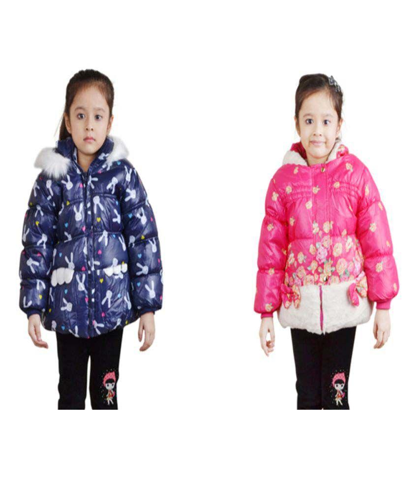 Qeboo Full Sleeves Combo of 2 Jackets