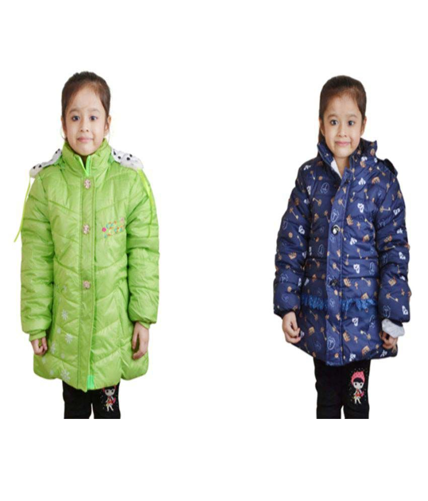 Crazeis Nylon Jackets - Combo of 2