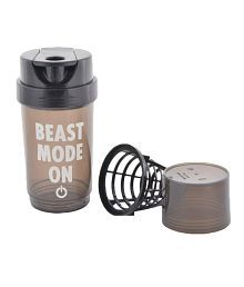 Tornedo Gym Shaker 500ml Bottle (Black)