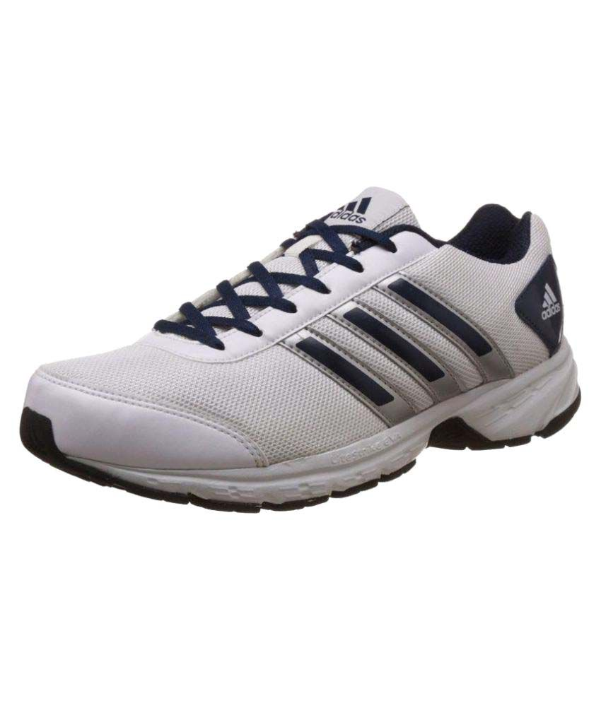 69f129ee0 Adidas Men's Adisonic M Mesh Running Shoes White - Buy Adidas Men's  Adisonic M Mesh Running Shoes White Online at Best Prices in India on  Snapdeal