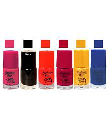 Fashion Bar Nail Polish Goggly Golden Matte 30 Ml Pack Of 6