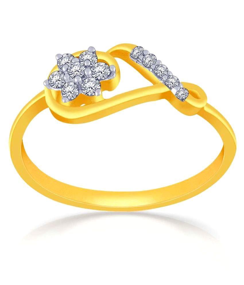 Malabar Gold and Diamonds 18k Gold Ring