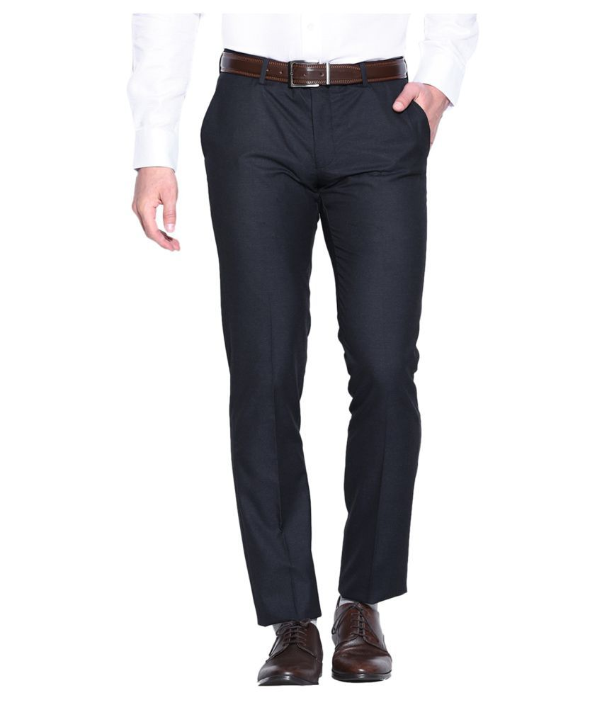 Blackberrys Black Skinny Flat Trousers