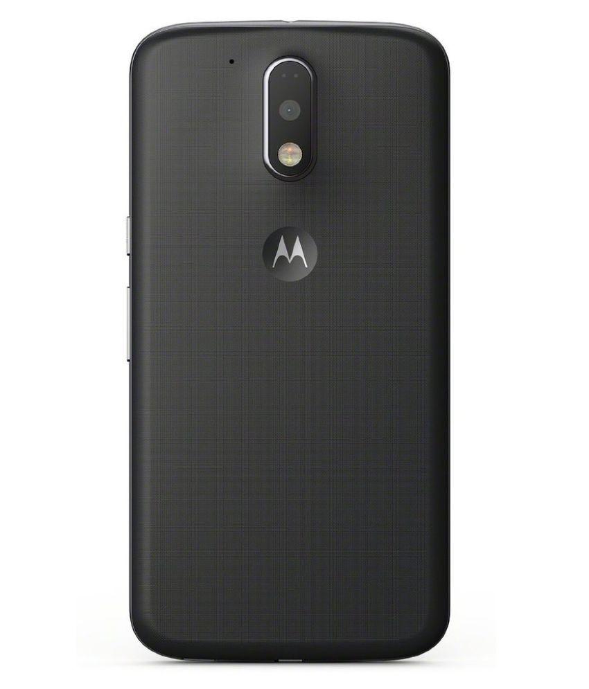 wholesale dealer 0af68 ef183 Motorola Moto G4 Plus ( 16GB , 2 GB ) Black
