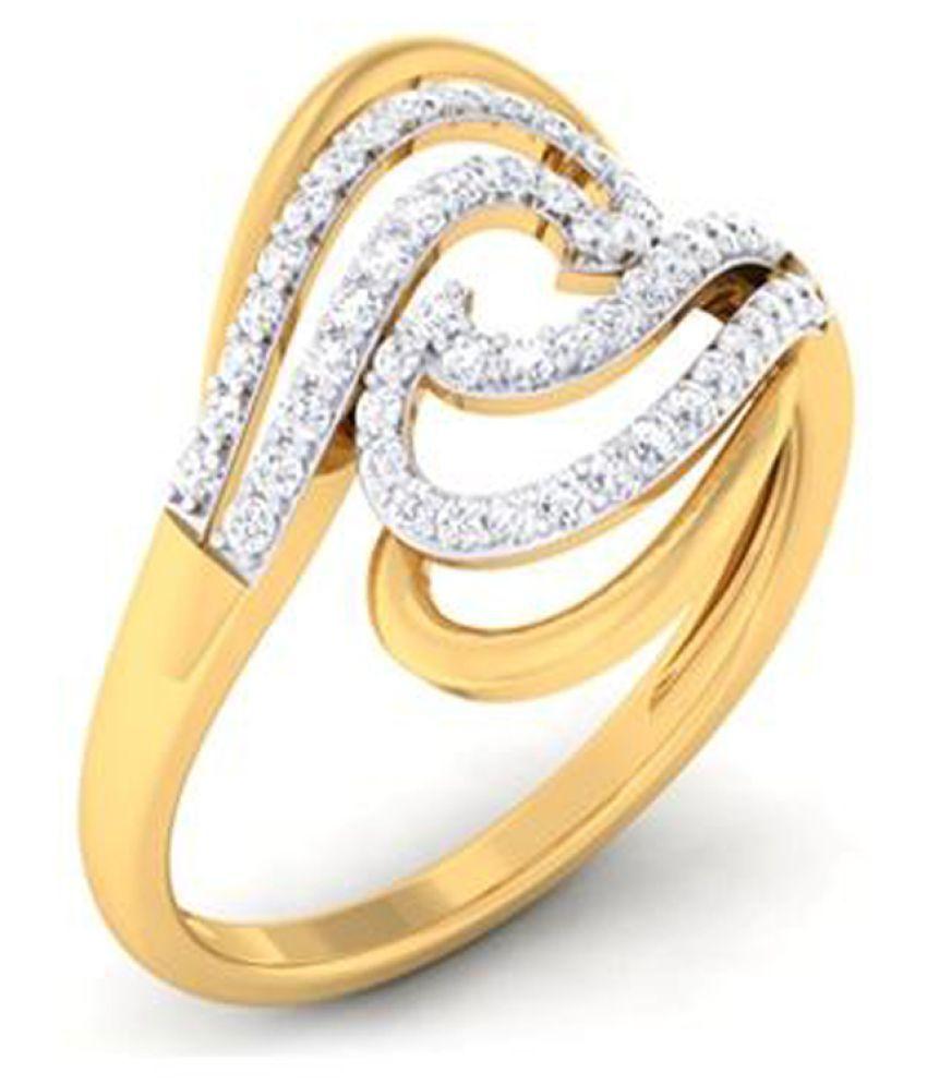Lakshikaa Jewels 9k Gold Ring