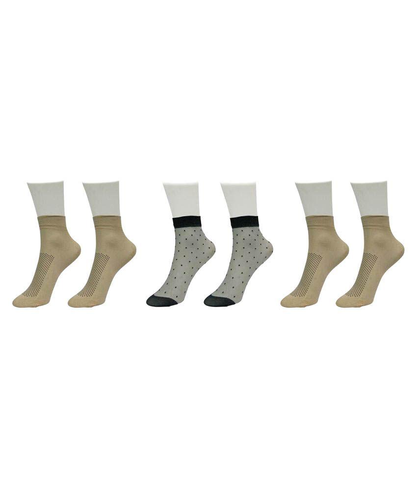 Gold Dust Multicolor Socks - Set of 3