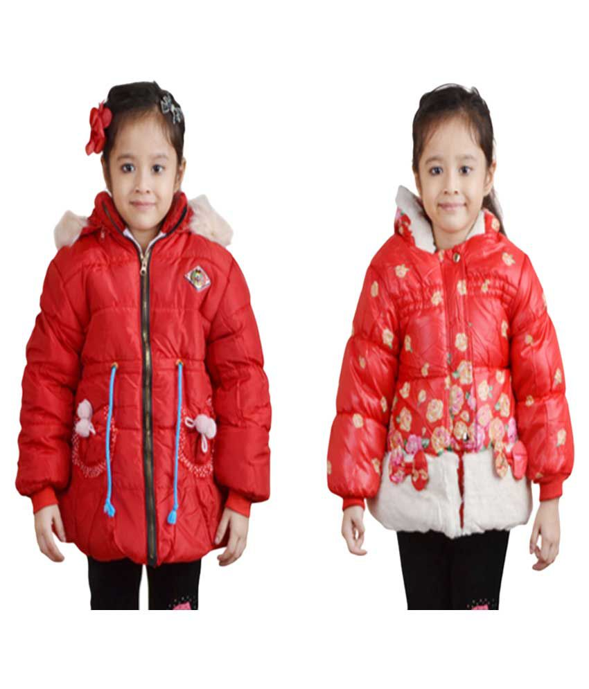Crazeis Red Jackets - Pack of 2