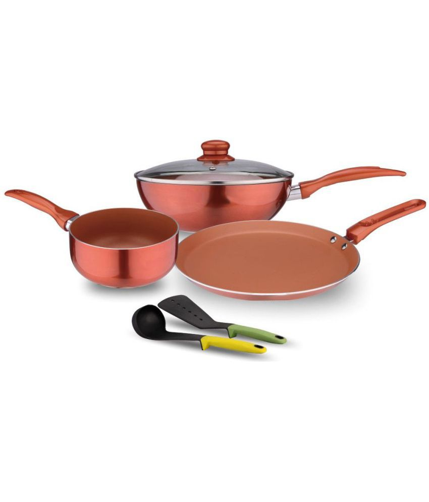 Non Stick Kitchen Set With Price: WONDERCHEF COOKWARE Price At Flipkart, Snapdeal, Ebay