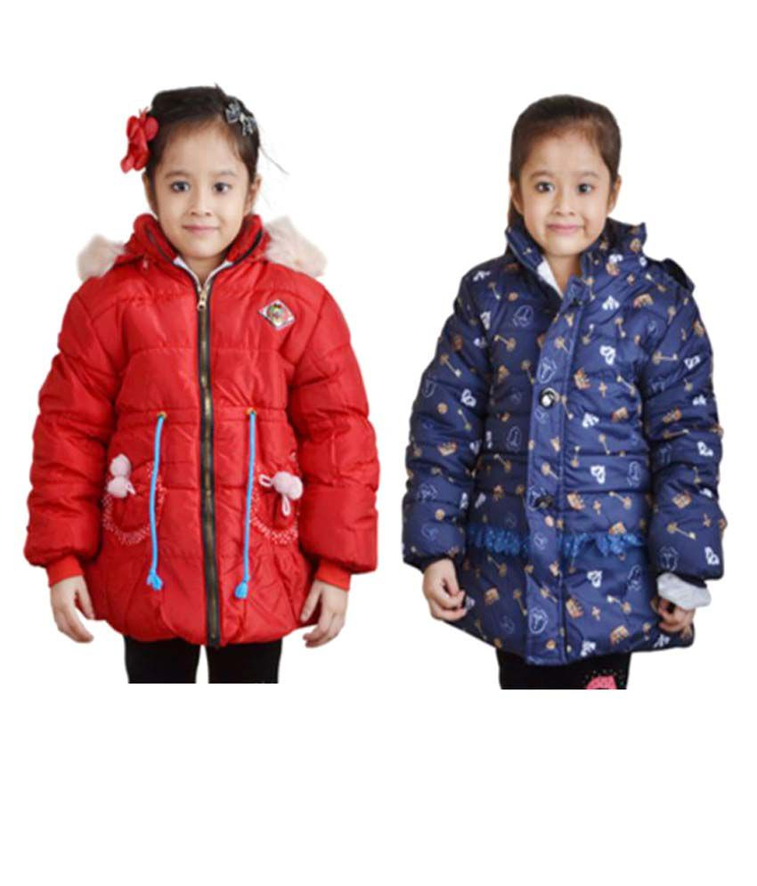 Crazeis Multicolour Nylon Jacket - Set of 2
