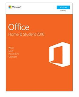 Microsoft Office 2016 Home And Student ( 32/64 Bit )