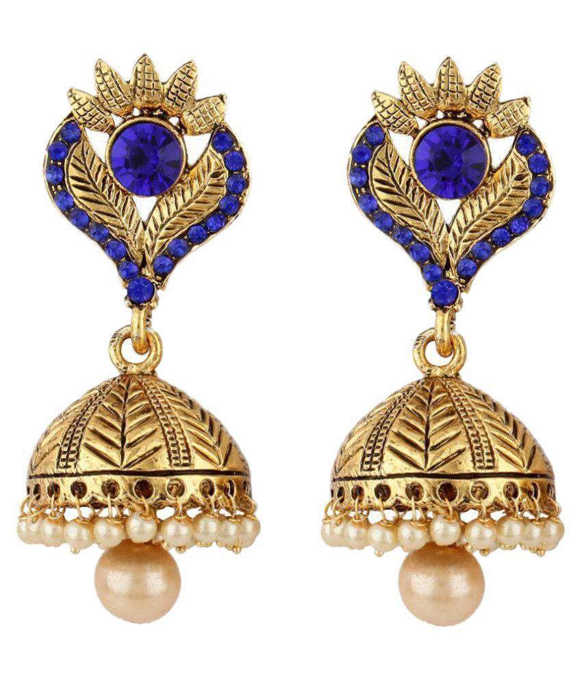 Jewels Guru Multicolor Jhumkis
