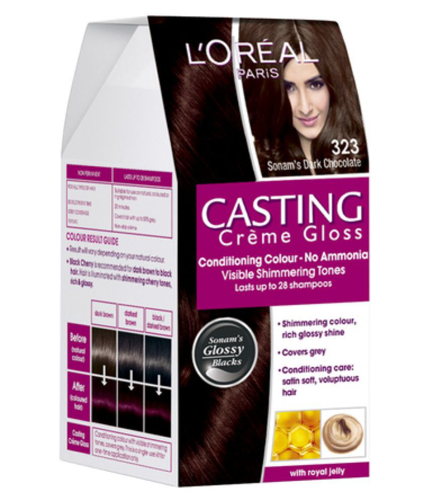 Loreal Paris Semi Permanent Hair Color Dark Brown 1 Gm Buy Loreal