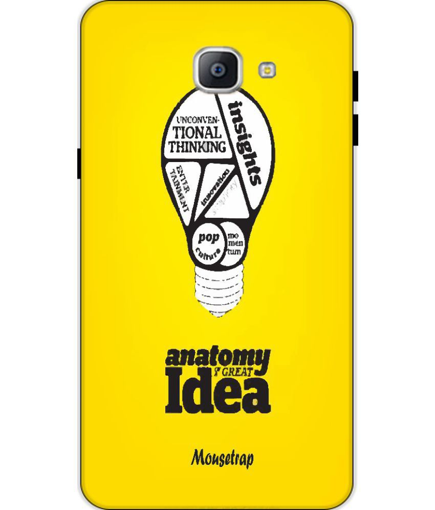 Samsung Galaxy J7 Prime Printed Cover By Mouse Trap