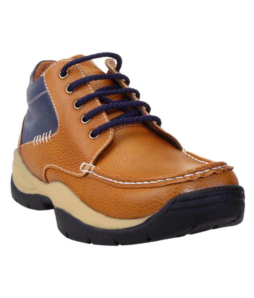 Zappy Tan Casual Boot