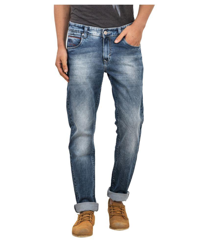 Blue Buddha Blue Regular Fit Jeans
