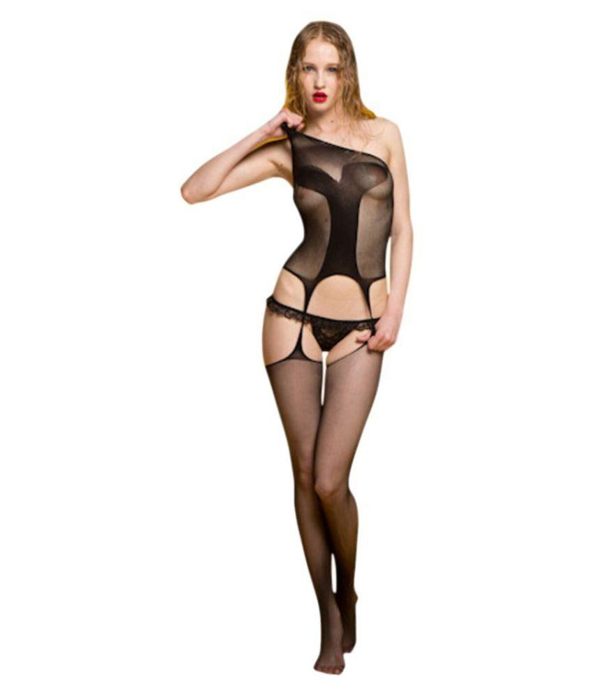 6ca71024819 Kaamastra Aphrodisiac Black Bodystocking  Buy Online at Low Price in India  - Snapdeal