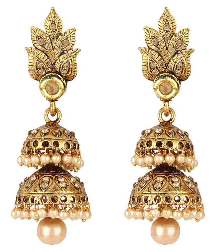Angel In You Golden Jhumki