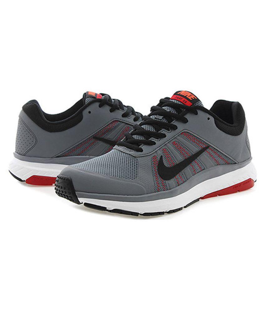 d90cef9e20a Nike Dart 12 MSL Running Shoes Gray - Buy Nike Dart 12 MSL Running ...