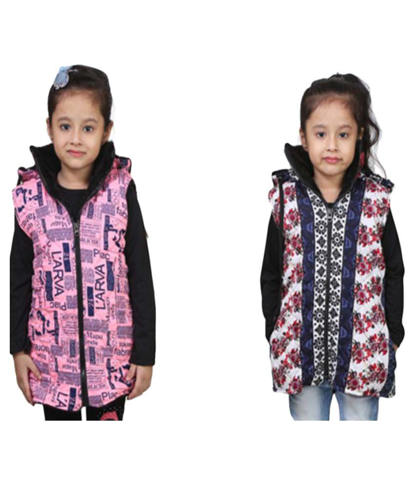 Qeboo Multicolored Jacket - Pack of 2