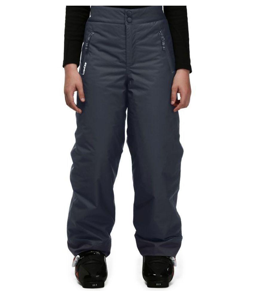 WEDZE Kids Waterproof Warm Skiing Trousers