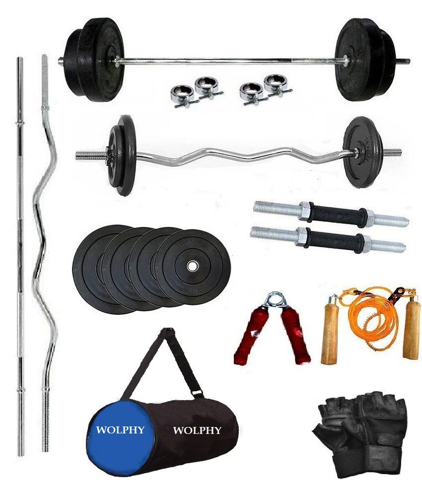 Wolphy 40kg Home Gym Set