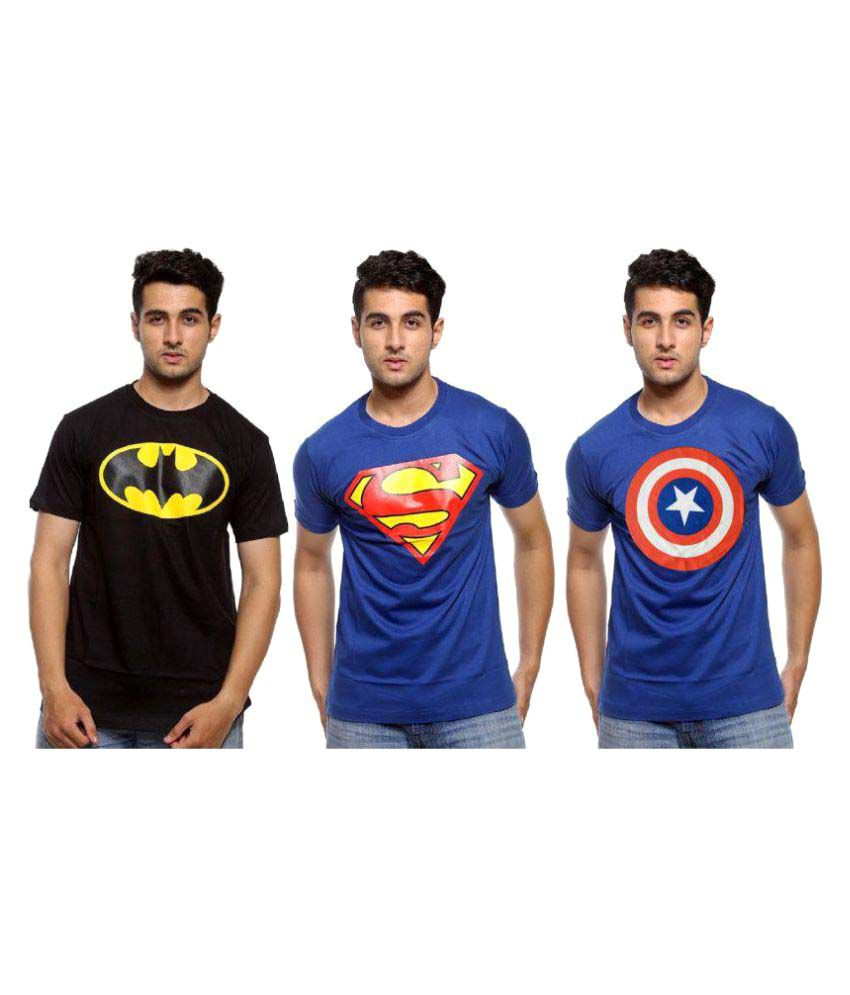 Smartees Multi Round T-Shirt Pack of 3