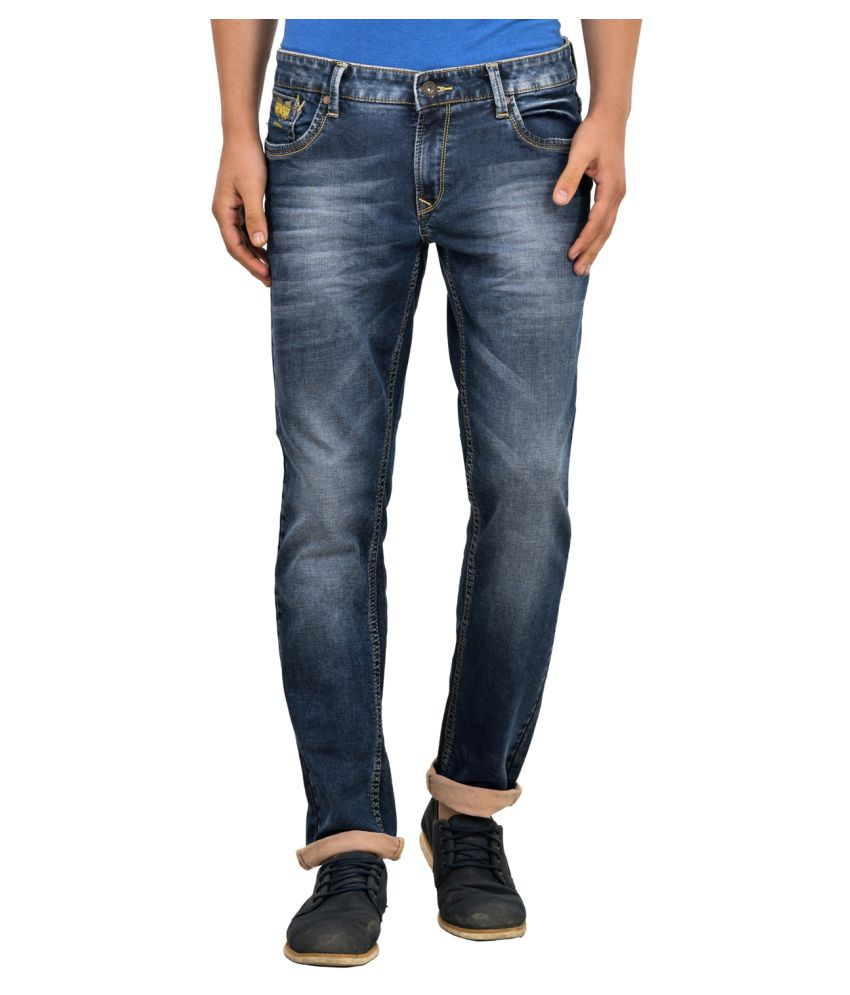 Blue Buddha Blue Regular Fit Jeans