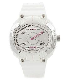 Fastrack White  Analog Watch
