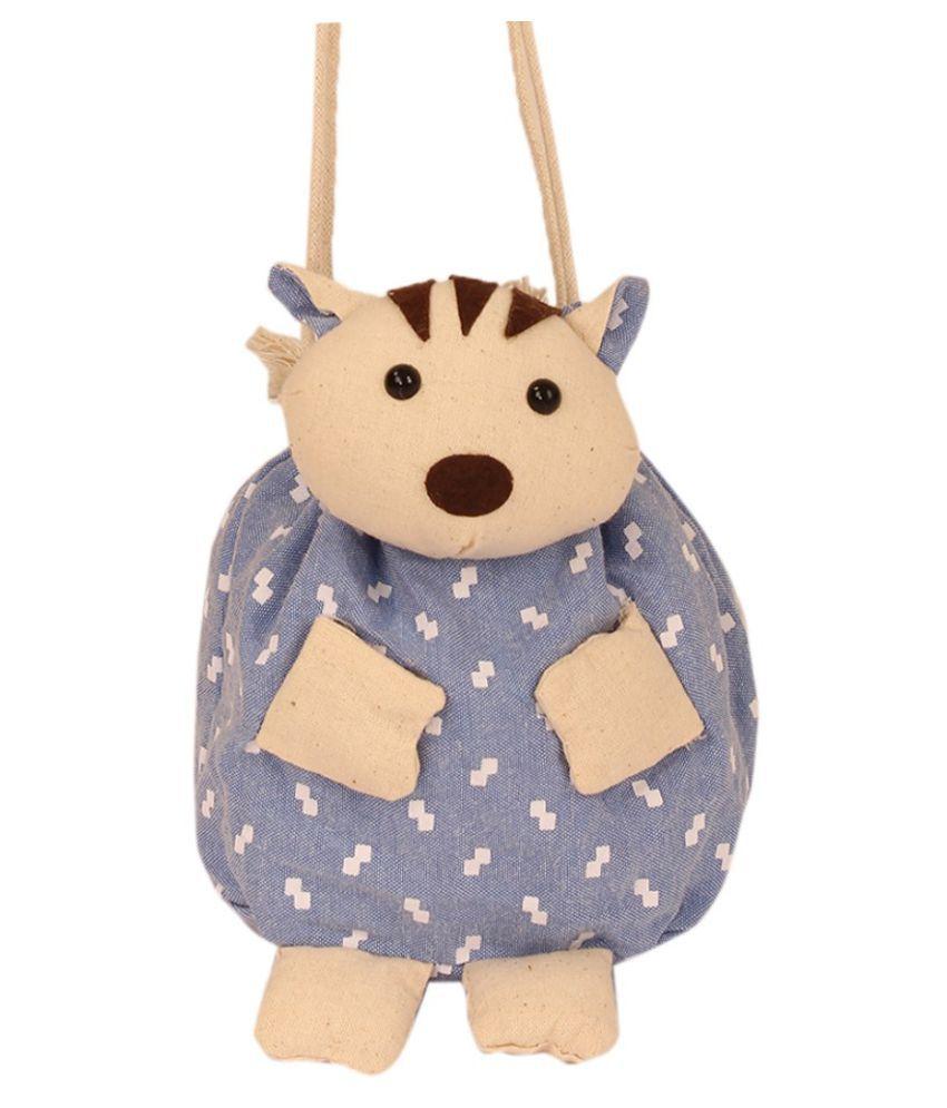 TLF Blue Backpack School Bag