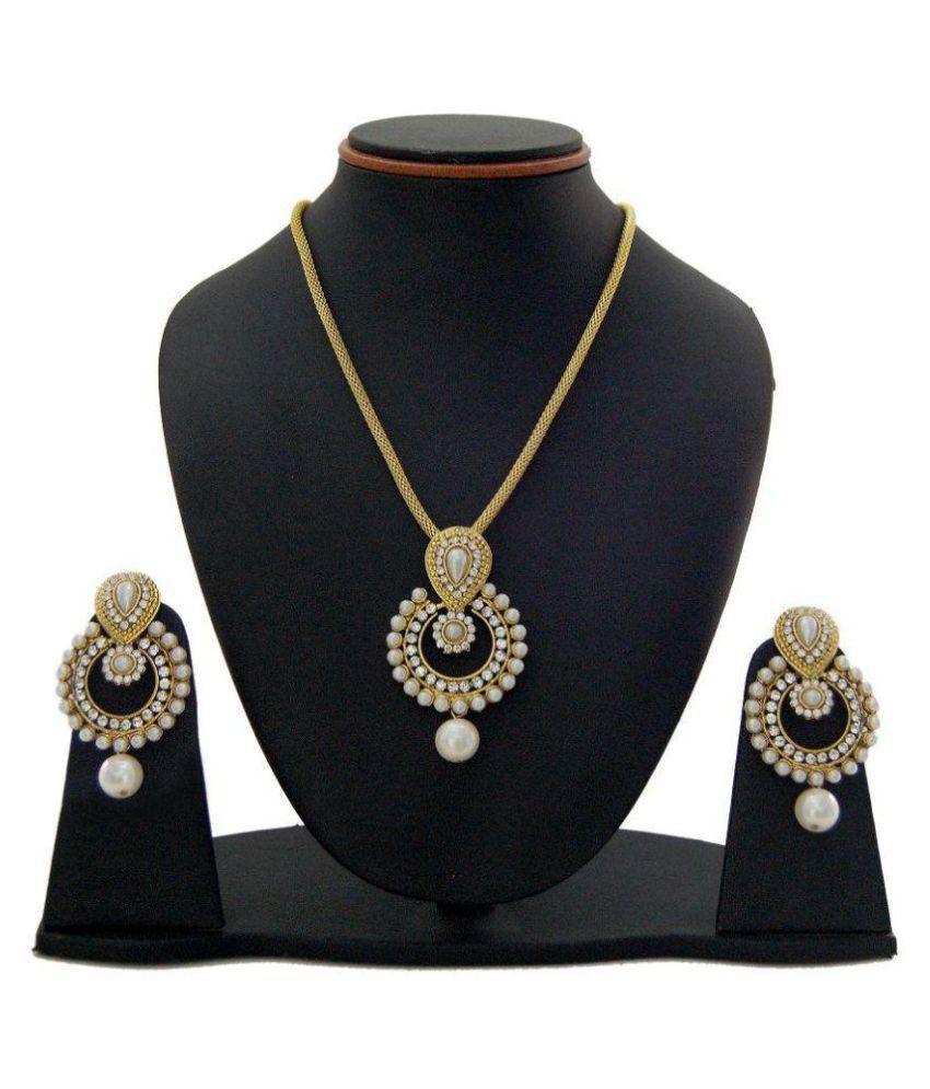 Farid Enterprises Gold Plated Necklace Set