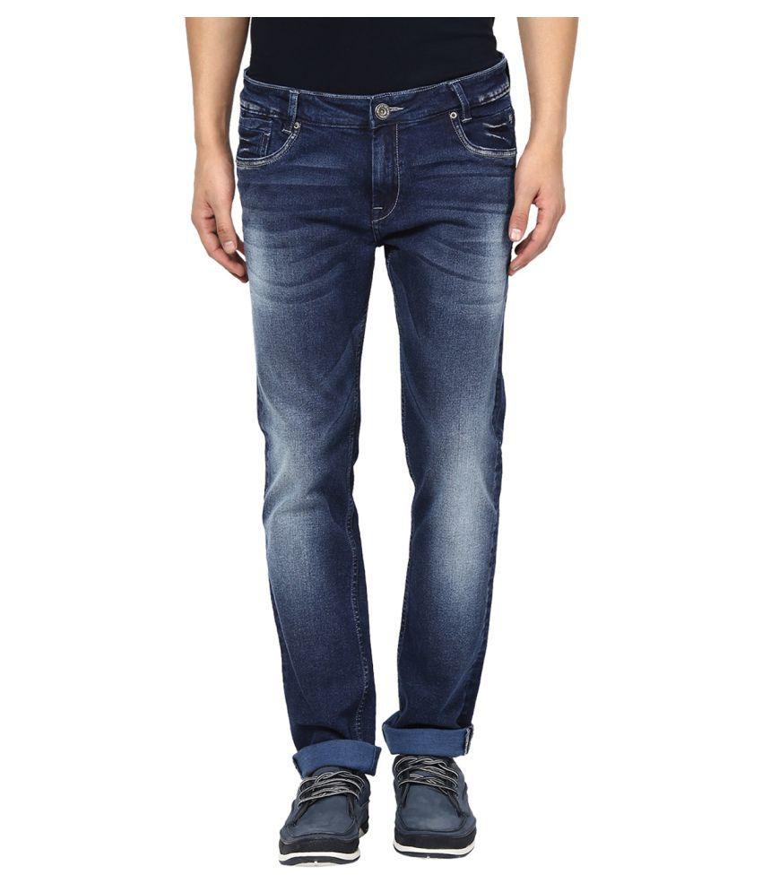 Mufti Blue Super Skinny Jeans