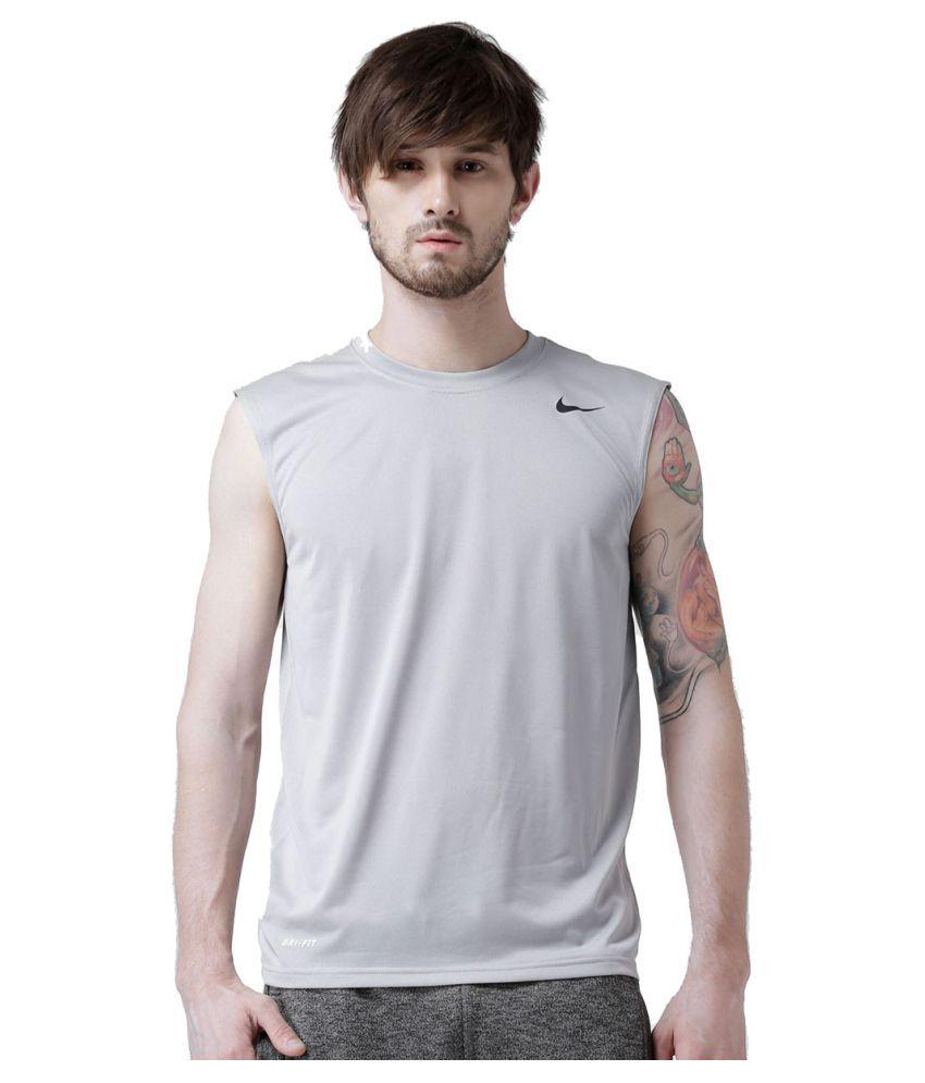 Nike Grey Running T-Shirt