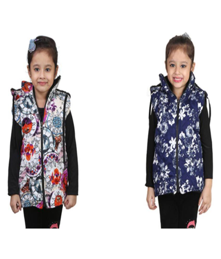Qeboo Multicolor Jackets - Pack of 2