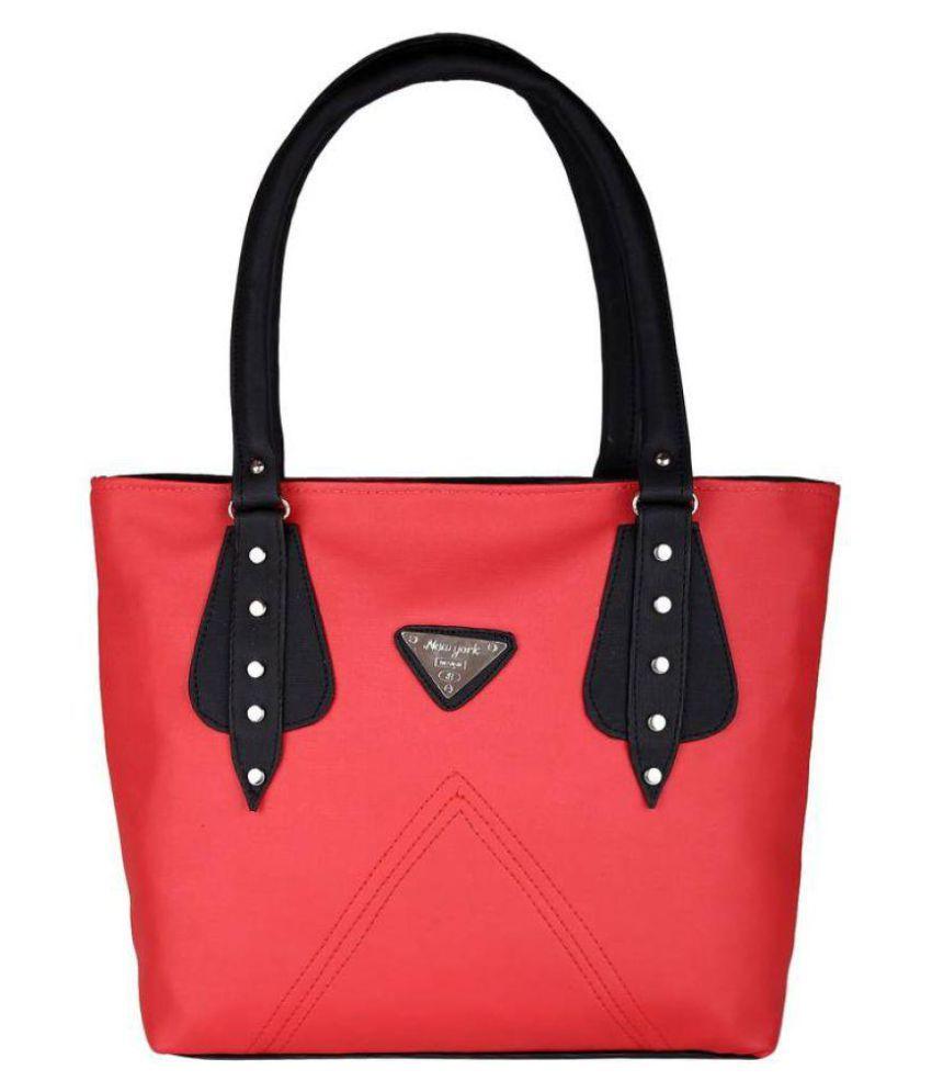 The Maxim Pink P.U. Shoulder Bag