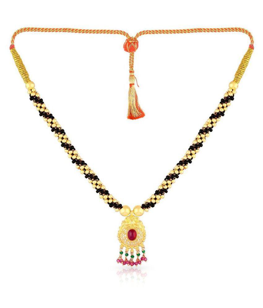 Malabar Gold and Diamonds 22k BIS Hallmarked Gold Necklace: Buy