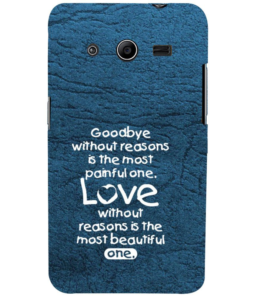 Samsung Galaxy Core 2 Printed Cover By PrintVisa