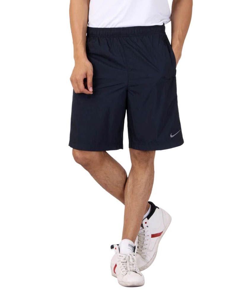 Nike Navy Polyester Shorts