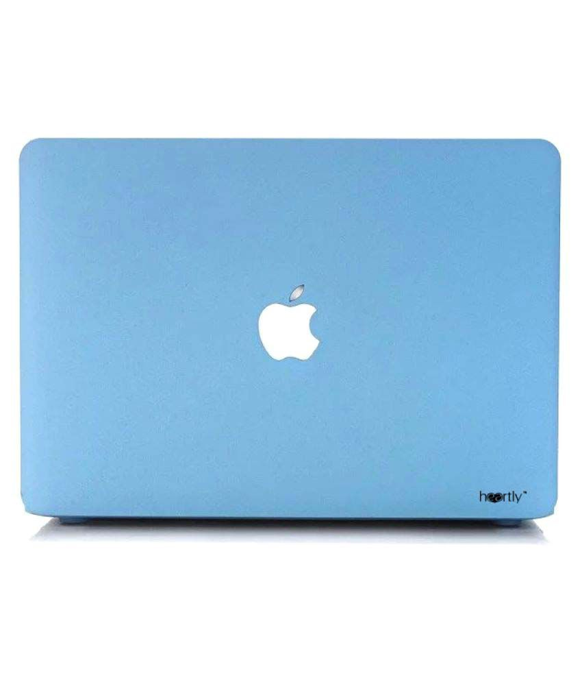 Heartly Blue Laptop Cases